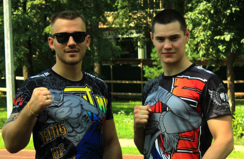 brother martial artists